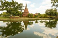 Patrimonio mondiale di Ayutthaya Fotografia Stock Libera da Diritti