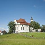 Patrimonio mundial de la iglesia en Alemania. Foto de archivo libre de regalías
