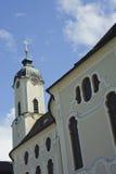 Patrimonio mundial de la iglesia en Alemania. Foto de archivo