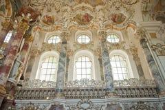 Patrimonio mundial de la iglesia en Alemania Foto de archivo