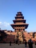 Patrimonio mundial en Kathamandu Fotos de archivo