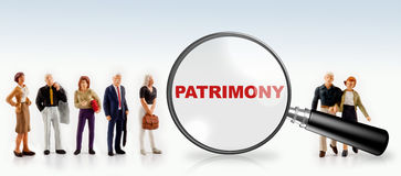Patrimony concept Stock Images