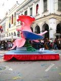 Patrino Karnavali, carnaval 2009 de Patra Photo libre de droits