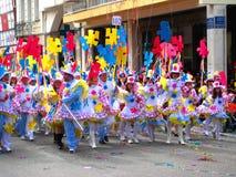 Patrino Karnavali, carnaval 2009 de Patra Photos libres de droits