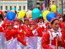 Patrino Karnavali, Patra Carnaval 2009 stock afbeelding