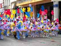 patrino patra karnavali καρναβαλιού του 2009 Στοκ φωτογραφίες με δικαίωμα ελεύθερης χρήσης