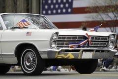Patriot's dnia parada Obraz Royalty Free
