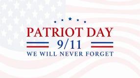 Free Patriot Day 9/11 Background Illustration Royalty Free Stock Photo - 194601105