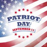 Patriot day america Stock Photography