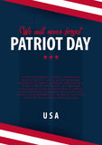 Patriot day background. September 11. We will never forget. Patriot day background. September 11. We will never forget Stock Photo