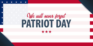 Patriot day background. September 11. We will never forget. Patriot day background. September 11. We will never forget Royalty Free Stock Image