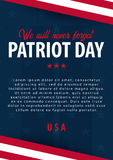 Patriot day background. September 11. We will never forget. Patriot day background. September 11. We will never forget Royalty Free Stock Images