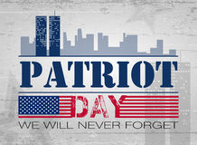 Patriot day background Stock Photography