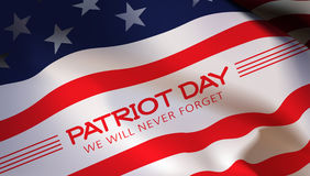 Patriot day background. Patriot Day. Vector illustration. 11 th September Stock Photography