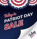 Patriot day sale promotion web banner. Stock Photos