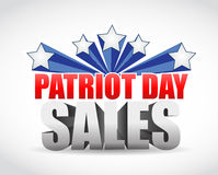 Patriot day sales us colors sign Royalty Free Stock Photography