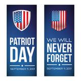 Patriot Day - September 11, 2001 Royalty Free Stock Photography