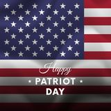 Patriot Day. September 11. Vector illustration. Patriot Day. September 11. Waving flag Royalty Free Stock Images
