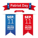 Patriot day  set.  Royalty Free Stock Photography