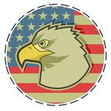 Patriot emblem Stock Photo