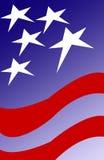 Patriot-Hintergrund Lizenzfreies Stockfoto