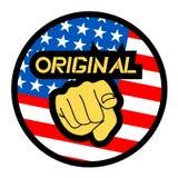 Patriot icon Royalty Free Stock Photo