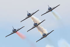 The Patriot Jet team Royalty Free Stock Photography