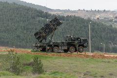 Patriot missile system Royalty Free Stock Photos