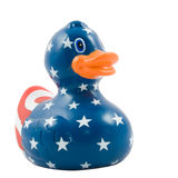 Patriot rubber duck Stock Images