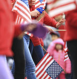 Patriot's Day Parade Stock Photography
