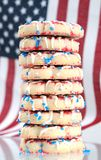 Patriot shortbread cookie Royalty Free Stock Photo