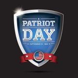 Patriot Tag 11. September 2001 lizenzfreie abbildung