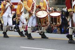 Patriot-Tagesparade Stockbild