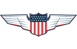 Patriot Wings Royalty Free Stock Images