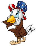 Patriota da águia Foto de Stock