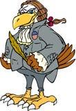 Patriota da águia calva Imagem de Stock