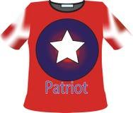 Patriota della maglietta Immagini Stock