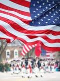 Patriota dnia parada zdjęcie royalty free