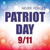 Patriota dzień Zdjęcia Stock