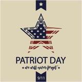 Patriota dzień Obraz Stock