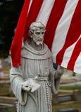 Patriota zakopuje tutaj i kolory honorują on na rememberence dniu obraz royalty free