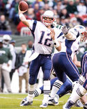 Patriotas de Tom Brady Nueva Inglaterra Imagen de archivo