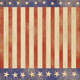 Patriote américain Images libres de droits