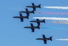 Patrioter Jet Team Arkivfoton