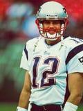 Patriotes de Tom Brady Nouvelle Angleterre Photographie stock
