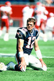 Patrioti del Tom Brady Nuova Inghilterra Fotografie Stock