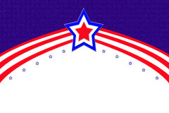Patriotic abastract background Stock Images