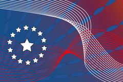 Patriotic Abstract Stock Photography