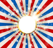 Patriotic abstract background United States of America, USA flag color Stock Photo