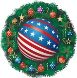 Patriotic Advent Royalty Free Stock Photography